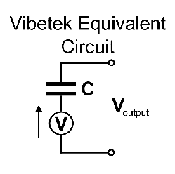Picture of Vibetek equivalent circuit