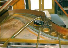 Picture of piano pickup
