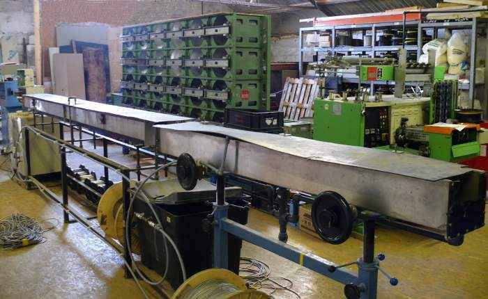 Picture of manufacturing equipment